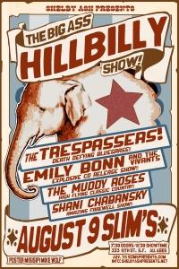 big ass hillbilly summer 2013 poster